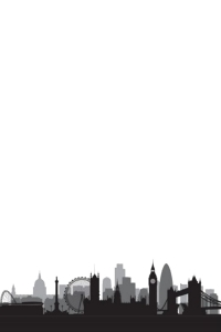 Skyline London plain