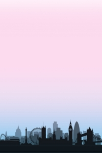 Skyline London sunset