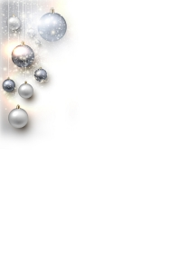 Winter bgs _silver ornaments