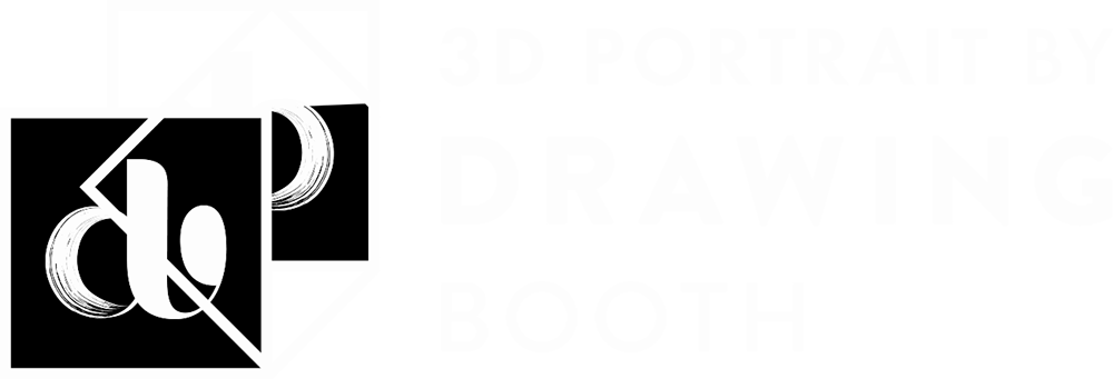 3D Portrait by Drawing Booth
