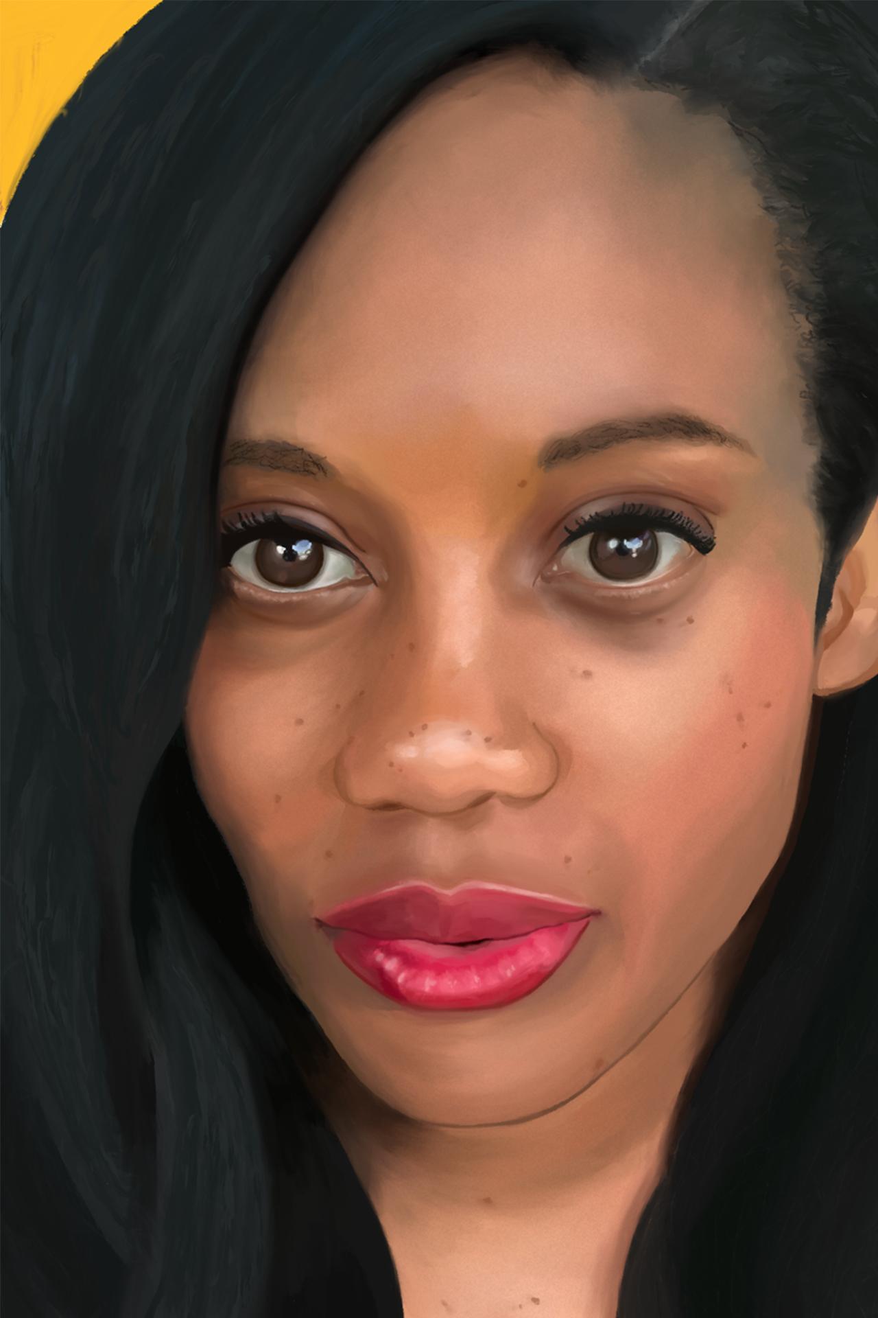 iPad Oil Painted Portrait